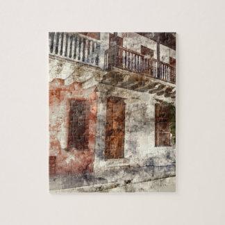 Cartagena Colombia Watercolor Jigsaw Puzzle