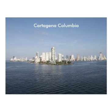 Beach Themed Cartagena Columbia, photography, Postcard