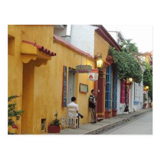 Cartagena Inside the Wall Postcard