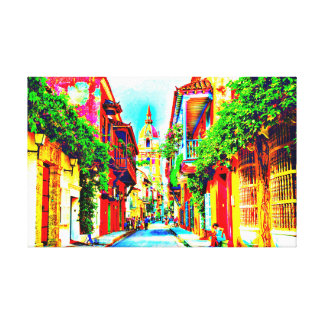 CARTAGENA MGP ART CANVAS PRINT