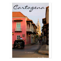 Cartagena Postcard