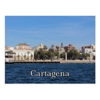 Cartagena souvenir and gift postcard