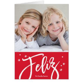 cartão de Natal português Card