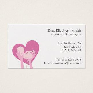 Cartão para Obstetra e Ginecologista Business Card