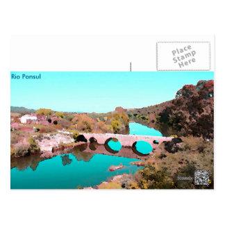 Cartão Río postal Ponsul