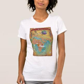 Cartas bíblicas de la genealogía camisetas