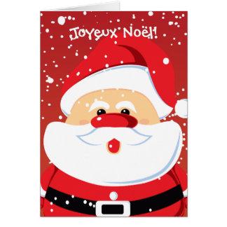 Cartas de Père Noël Papá Noel Tarjeta De Felicitación