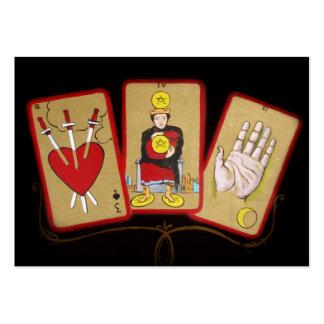Cartas de tarot (1) tarjetas de visita grandes