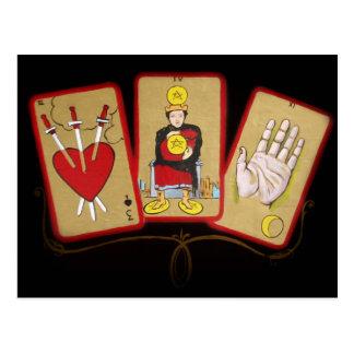 Cartas de tarot 1 tarjetas postales