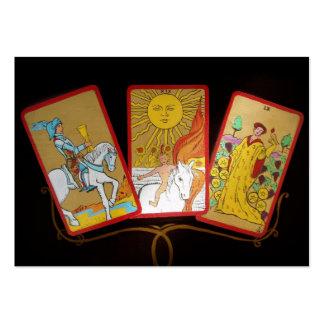Cartas de tarot (2) tarjetas de visita grandes