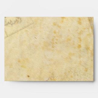 carte ancienne envelope