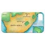 Carte de l'Afrique du Sud iPhone 5 Cases