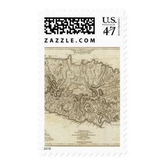 Carte de l'Isle de la Grenade Postage