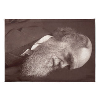 Carte de visite photograph of Charles Darwin Placemats