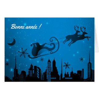 Carte de voeux Bonne Année, enveloppe incluse Card