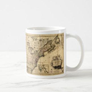 Carte des Etats-Unis de l'Amerique (1783) Coffee Mug