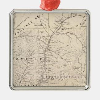 Carte, Entre Rios, Santa Fe, Soundtrack Christmas Tree Ornament
