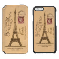 Carte Postale iPhone 6/6S Incipio Wallet/Case Incipio Watson™ iPhone 6 Wallet Case