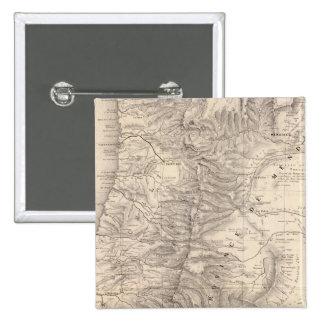 Carte, Province de Mendoza, the Araucan�a Button