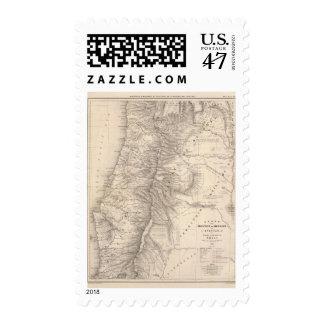 Carte, Province de Mendoza, the Araucan�a Postage Stamp