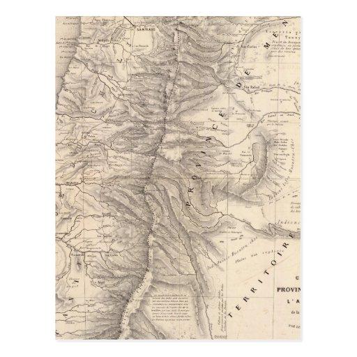 Carte, Province de Mendoza, the Araucan�a Post Card