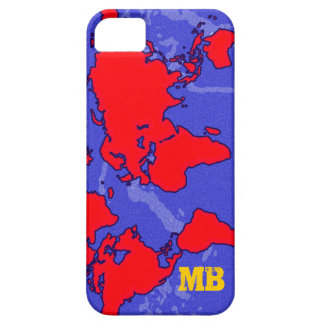 carte roja fresca du monde iPhone 5 carcasa