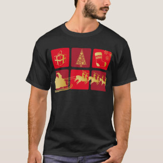 CARTE ROUGE ET OR.png T-Shirt