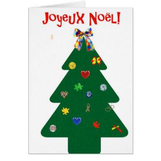 Carte Sapin de Noël Greeting Card