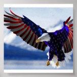 CARTEL DE AMERICAN EAGLE POSTERS