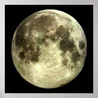 Cartel de la Luna Llena Póster