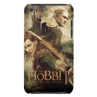 Cartel de película 3 de TAURIEL™ y de LEGOLAS iPod Touch Case-Mate Cobertura