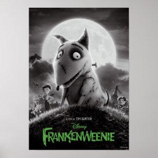 Cartel de película de Frankenweenie Impresiones
