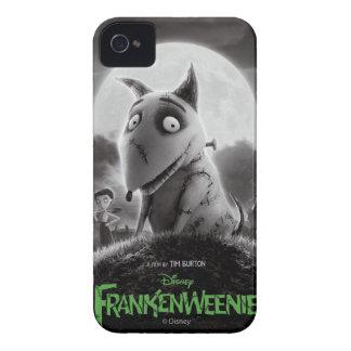 Cartel de película de Frankenweenie iPhone 4 Case-Mate Cárcasas