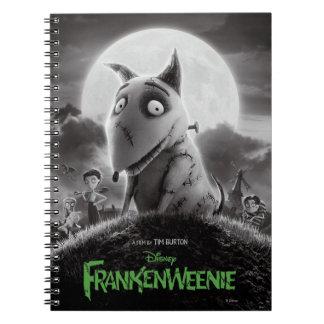 Cartel de película de Frankenweenie Libreta