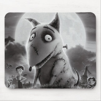 Cartel de película de Frankenweenie Mouse Pads