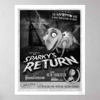 Cartel de película de vuelta vivaracho póster