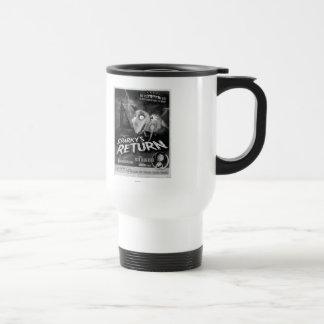 Cartel de película de vuelta vivaracho tazas de café