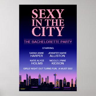 Cartel de película del fiesta de Bachelorette Poster