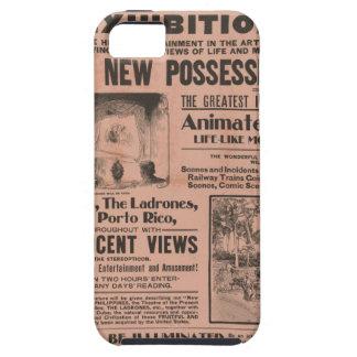 Cartel de película del vintage iPhone 5 carcasa