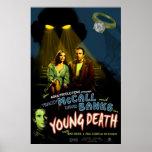 "Cartel de película ""muerte joven "" póster"