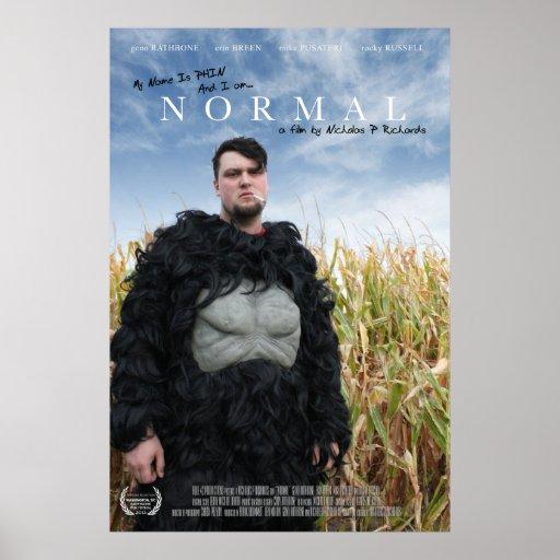Cartel de película NORMAL Póster