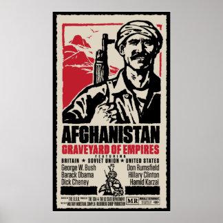 Cartel de película pacifista de Afganistán Impresiones