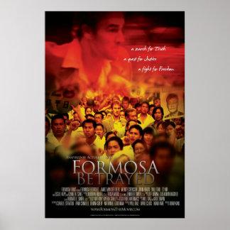 Cartel de película traicionado Formosa alterno Poster