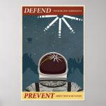 Cartel décimo de la propaganda del juego de arcada posters