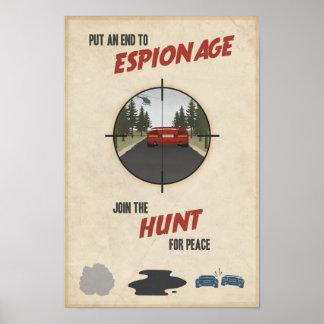 Cartel décimo de la propaganda del juego de arcada póster