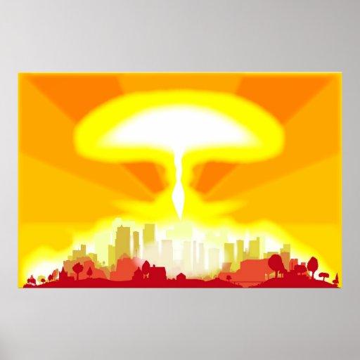 "Cartel del ""Armageddon"" Póster"