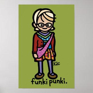 cartel del punki póster