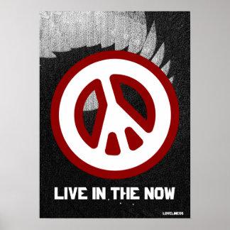 Cartel Now- Cust de la Paz- interna verdadera ang Impresiones
