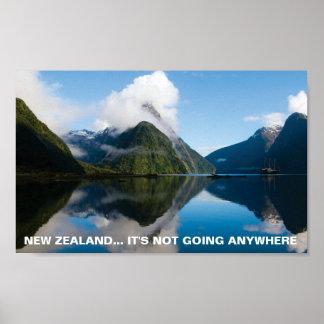 Cartel Nueva Zelanda, de FOTC no va dondequiera Impresiones