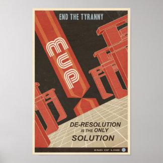 Cartel quinto de la propaganda del juego de arcada póster